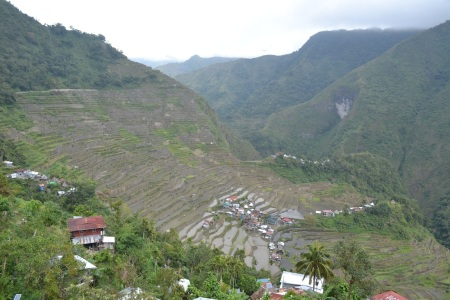 Batad's amphitheater-shaped rice terraces ::: Amfiteatrove ryzove polia v Batade