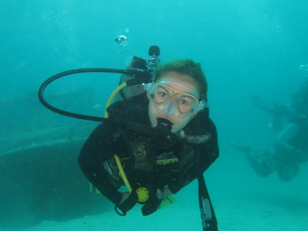 Say hi to the new member of PADI Open Water club ::: Vitaj v klube PADI Open Water!