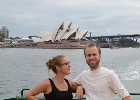 Finally we have a proof we are in Sydney ::: Konecne mame dokaz, ze sme v Sydney