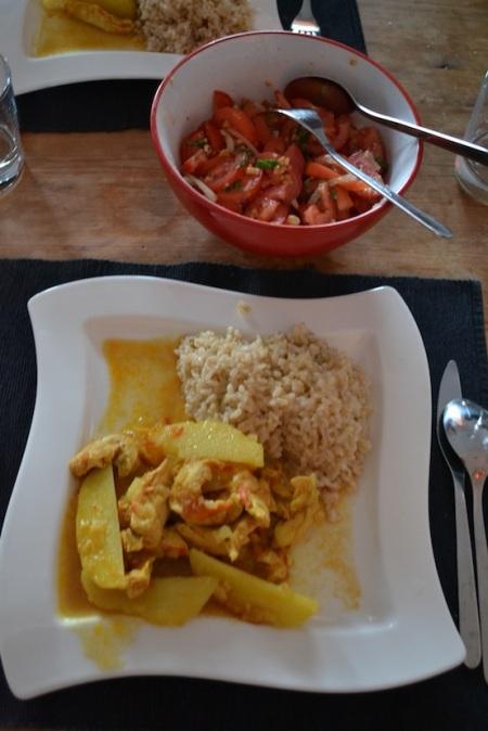 Myanmar cooking lessons brought into practice ::: Myanmarsky kurz varenia v praxi