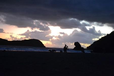 Today's sunrise at the beach was one of those once-in-a-lifetime experiences ::: Dnesny vychod slnka na plazi bol jeden z tych raz-za-zivot zazitkov