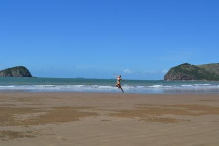 A whole beach to ourselves ::: Cela plaz len pre nas