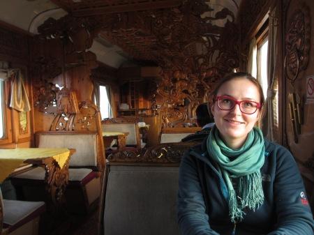 Mongolian Restaurant wagon ::: Mongolsky restauracny vozen