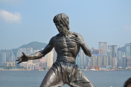 Bruce Lee in Hong Kong ::: Bruce Lee v Hong Kongu