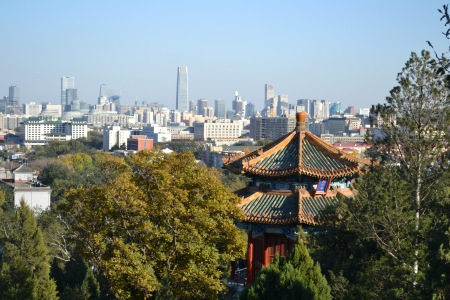 Beijing from above ::: Peking zhora