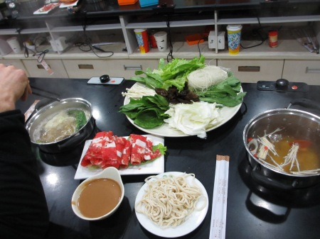 Hotpot for dinner: a mystery at first, yummy in the end ::: Hotpot vecera: najprv zahada a potom pochutka