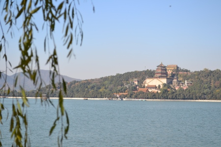 Picnic at the lake at the Summer Palace ::: Piknik pri jazere pri Letnom Palaci