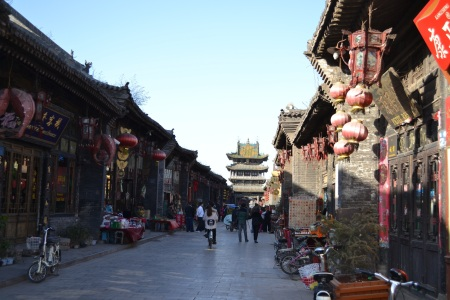 The beautiful traditional streets of Pingyao ::: Krasne tradicne ulice v Pingyao