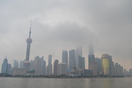 A rainy day in Shanghai ::: Uprsany den v Sangaji