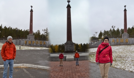 A trip to the Europa-Asia border monument - beautiful! ::: Vylet k monumentu na hranici Europa-Azia - nadhera!