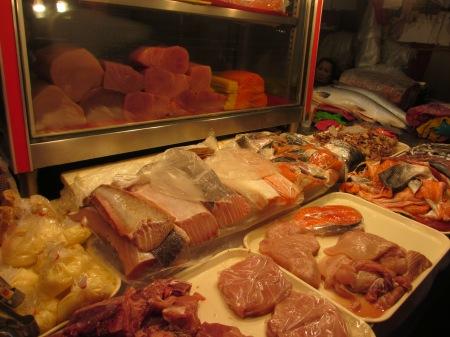 Some serious sashimi shopping (4s) ::: Poriadny nakup sashimi (1p 1n 1s)