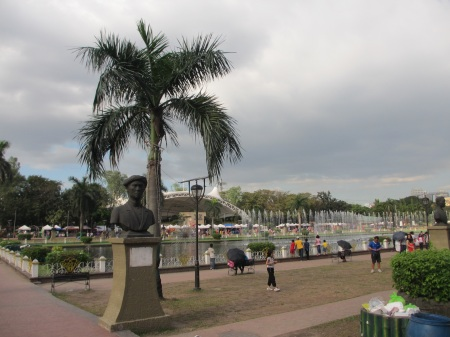 Exploring the old Manila: Rizal Park and Intramuros ::: Preskumavame staru Manilu: Rizal Park a Intramuros