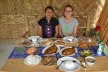 WIth Thu Zar and her delicacies