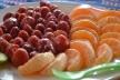 Strawberries and mandarines