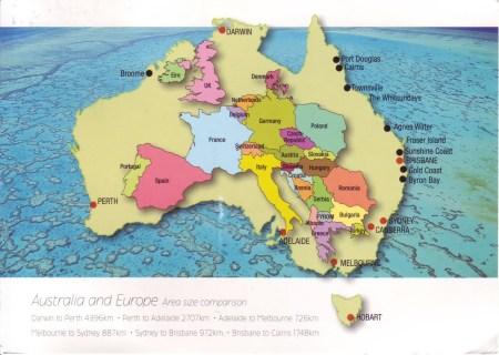 europe in australia