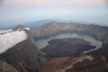 The crater lake