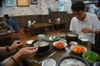 Junsik's treat: Pork intestine stew