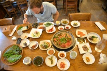 Bulgogi and 100 other side dishes