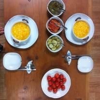 Lentil porridge for breakfast